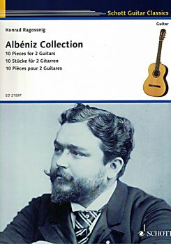 Albéniz, Isaak: Collection, 10 Pieces for 2 Guitars, guitar duet, sheet music