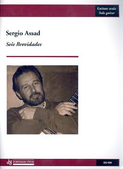 Assad, Sergio: Seis Brevidades, for guitar solo, sheet music