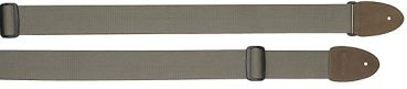 Guitar strap cotton, textured, colour khaki