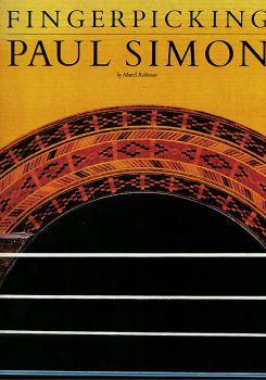 Fingerpicking Paul Simon for guitar, sheet music
