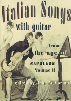 Italian Songs with Guitar Vol. 2 - From the Age of Napoleon, Noten für Gesang & Gitarre