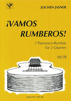 Jasner, Jochen: Vamos Rumberos - 7 Flamenco Rumbas for 2 guitars, sheet music