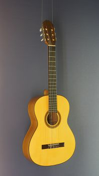 Classical Guitar Juan Aguilera, Model niña 61, 7/8-Guitar, scale 61 cm, with solid spruce top