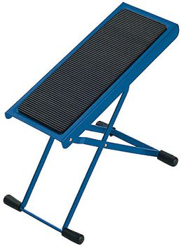 Footrest for classical guitar K&M blue