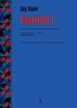 Kindle, Jürg: Fingerfood 1, 25 Studies for Mandolin, sheet music