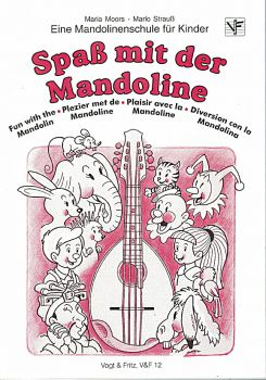 Moors, Maria & Strauß, Marlo: Spaß mit der Mandoline Vol. 1, Mandolin Method for Children
