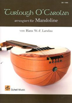 Landau, Hans W.F.: Turlough O`Carolan for Mandolin solo, Irish sheet music