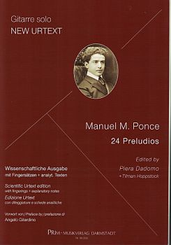 Ponce, Manuel Maria: 24 Preludios - Urtext for guitar solo, sheet music