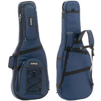 Gigbag for Classical Guitar or small Acoustic Guitars, Soundwear blue