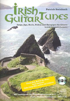 Steinbach, Patrick: Irish Guitar Tunes for solo guitar or melody instrument and guitar, sheet music