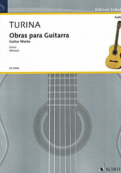 Turina, Joaquin: Obras para Guitarra, sheet music for guitar solo