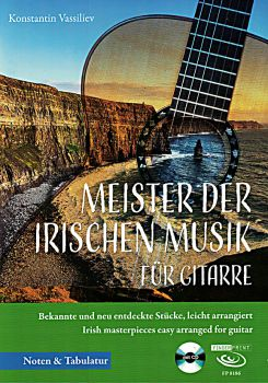 Vassiliev, Konstantin: Meister der irischen Musik, Irish Music for guitar solo, sheet music