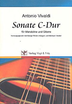 Vivaldi, Antonio: Sonata C-Dur for Mandolin and Guitar, sheet music