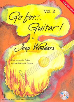 Wanders, Joep: Go for Guitar Vol. 2, easy pieces for guitar solo, sheet music