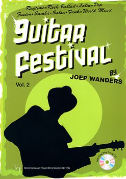 Wanders, Joep: Guitar Festival 2, easy to intermediate pieces for guitar solo, sheet music
