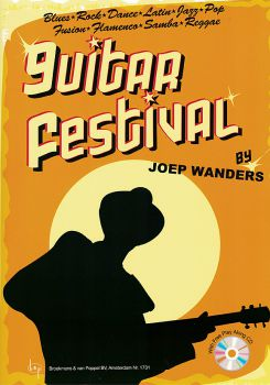 Wanders, Joep: Guitar Festival 1, easy to intermediate pieces for guitar solo, sheet music