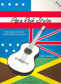 Wanders, Joep: Pop & Rock Styles, easy pieces for guitar solo, sheet music
