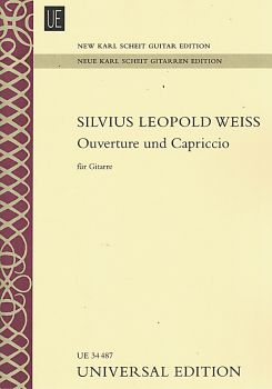 Weiss, Slvius Leopold: Ouverture and Capriccio for guitar solo - New Karl Scheit Edition, sheet music