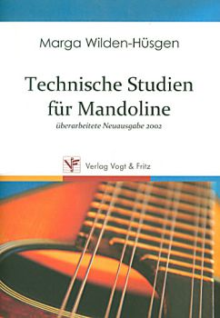 Wilden-Hüsgen, Marga: Technische Studien - Technical Studies for Mandolin, sheet music