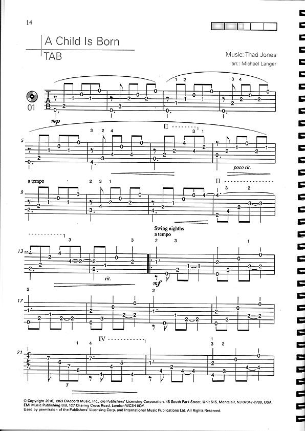 Weihnachtslieder Jazz Noten.Gitarrennoten Und Gitarrenzubehör Die Zupfgeige