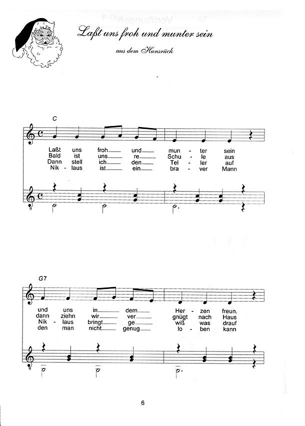 Weihnachtslieder Gesang.Otter Rudolf Weihnachtslieder Für Gitarre Gesang Melodieinstrument Und Gitarre
