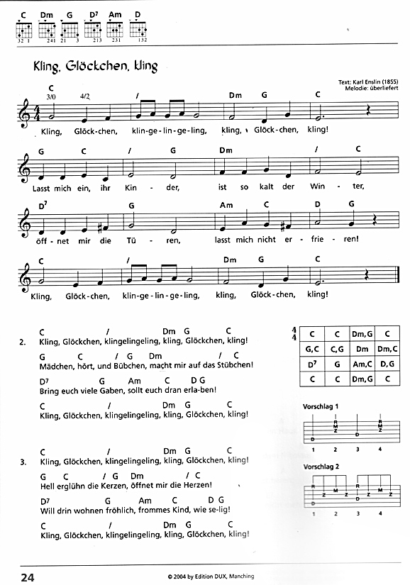 Schmidt Stephan Weihnachtslieder Christmas Songs With Easy Chords Sheet Music