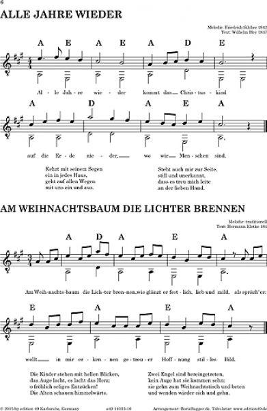 Gitarrennoten und Gitarrenzubehör, Die Zupfgeige ...