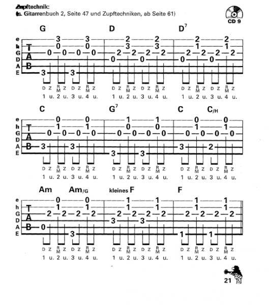 Gitarrenbuch von Peter Bursch