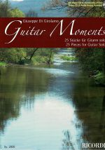 Di Girolamo, Giuseppe: Guitar Moments - 25 pieces for guitar solo, sheet music
