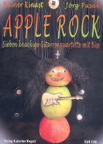 Kinast, Rainer & Pusak, Jörg: Apple Rock, easy pieces for 4 guitars, sheet music